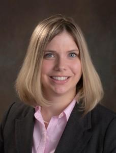 Dr. Alyssa Butler working at Premier Dental