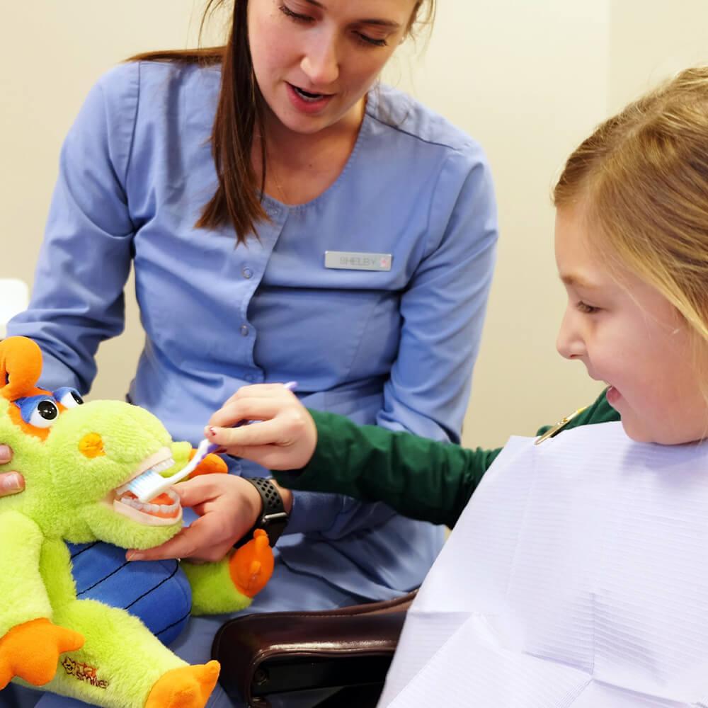 dental services premier dental Omaha Ne pediatric services dental sealants